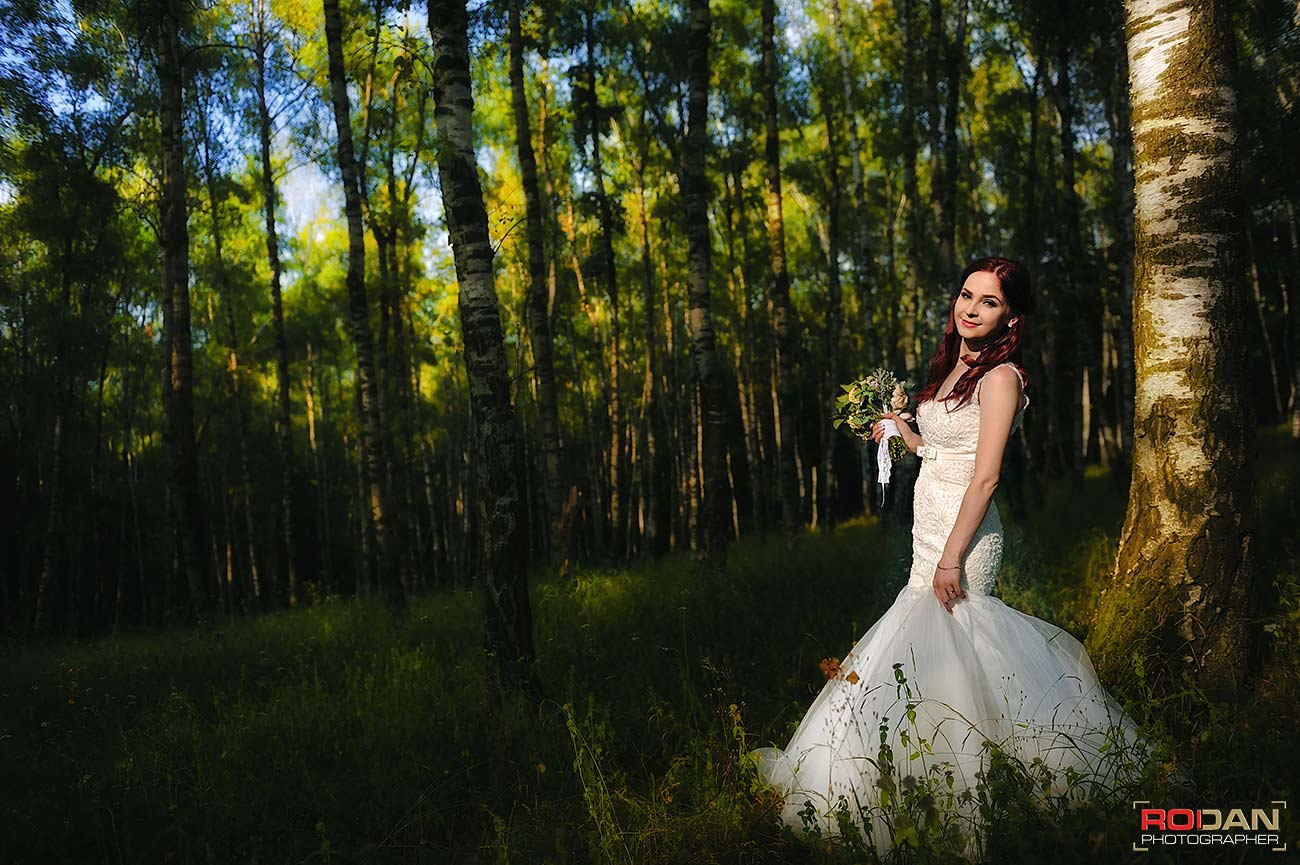 Sedinta foto de nunta in Piatra Neamt