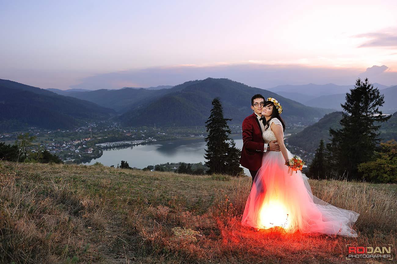 Sedinta foto dupa nunta - TTD in Piatra Neamt