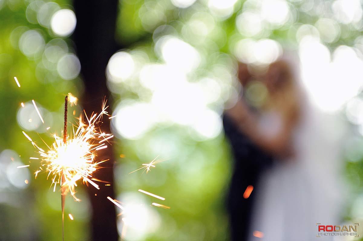 foto artificii nunta Bacau