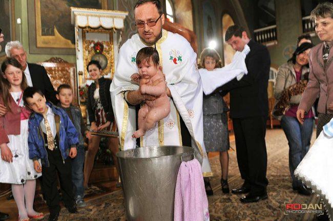 Fotograf pentru botez in Bacau