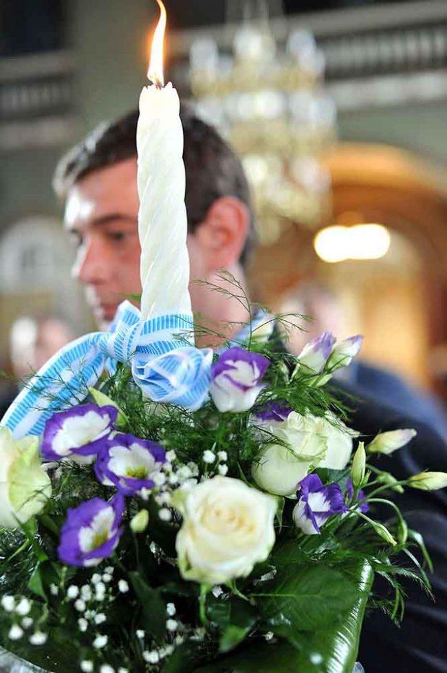 Foto, video, botez Roman, Neamt