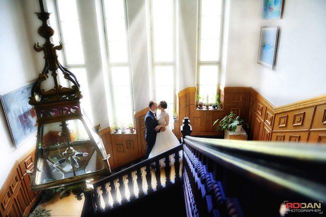 Palatul Ghika Comanesti - sedinta foto de nunta Comanesti-Bacau