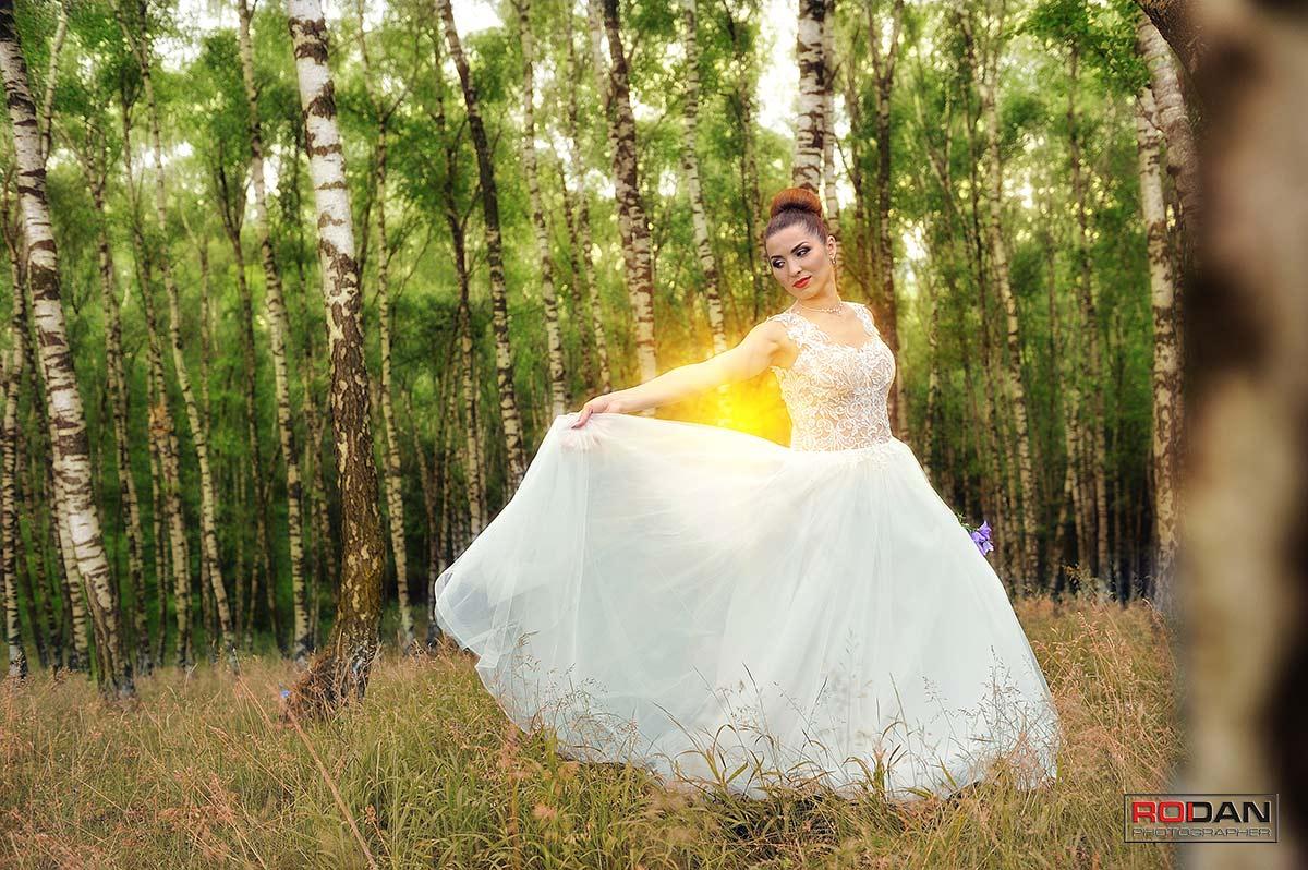 Sedinta foto creativa trash the dress