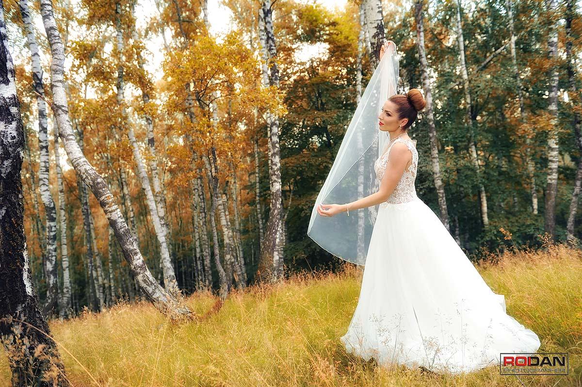 Fotografie realizata dupa nunta