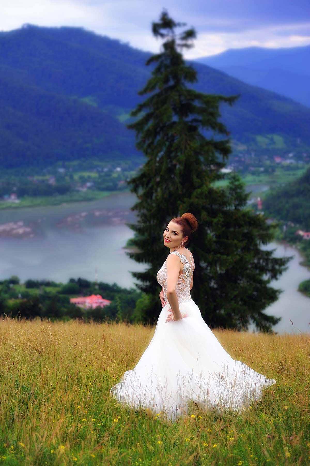 Fotografii realizate dupa nunta Piatra Neamt
