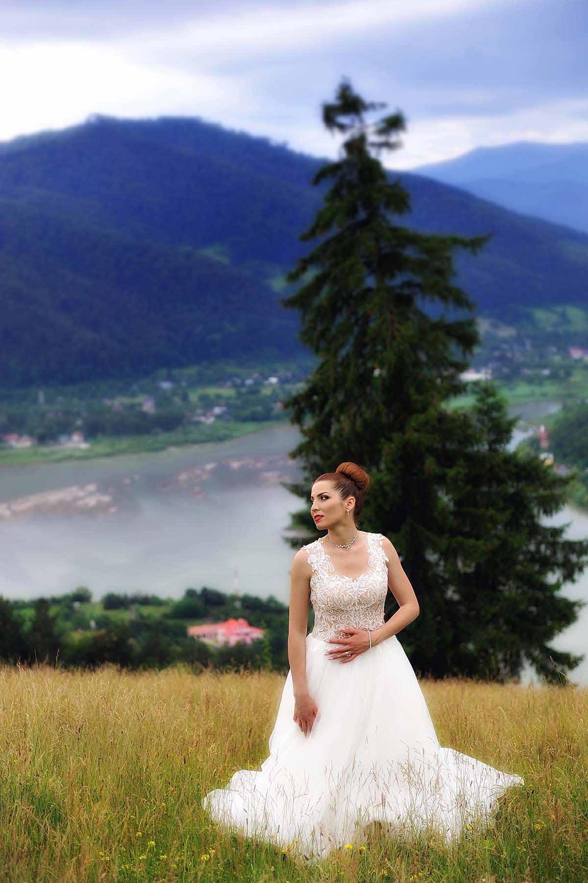 Sedinta foto dupa nunta, sedinta foto glamour after wed la Bisericani