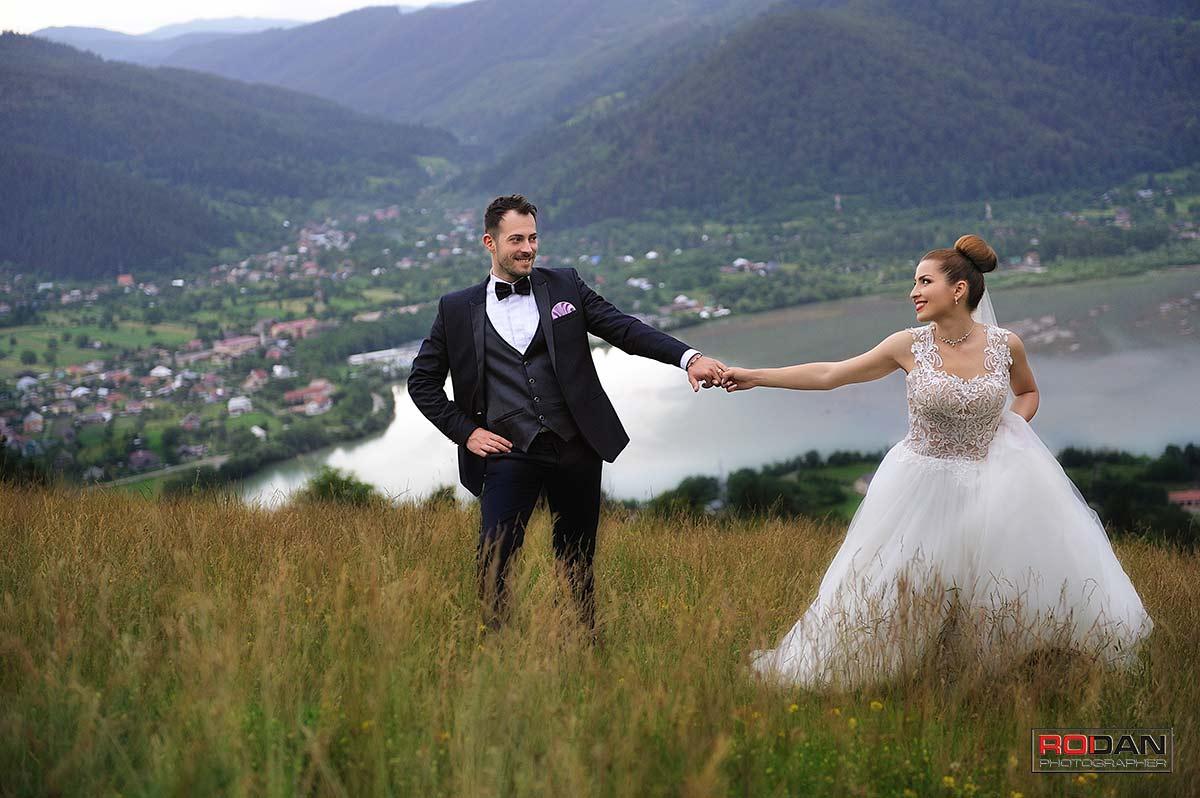 Sedinta foto dupa nunta in Piatra Neamt